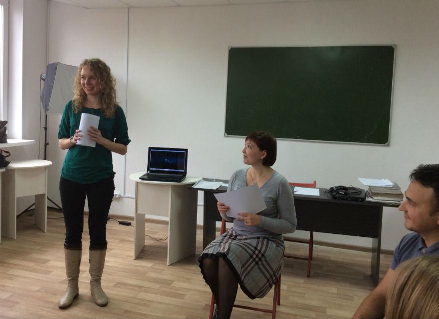 Тренинг по ораторскому искусству (октябрь 2014)
